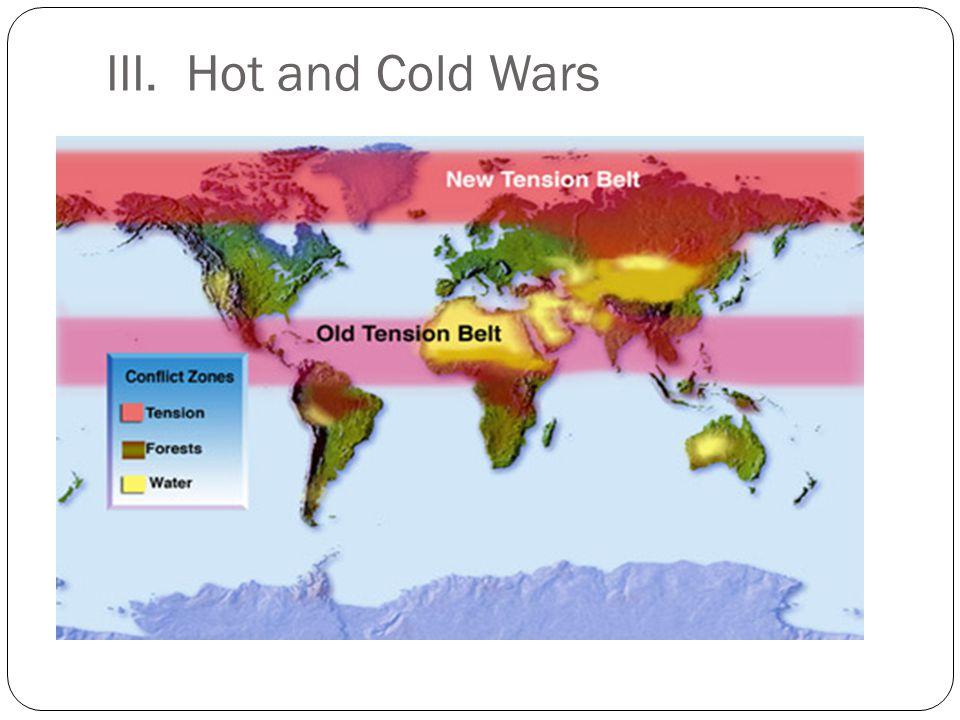 III. Hot and Cold Wars