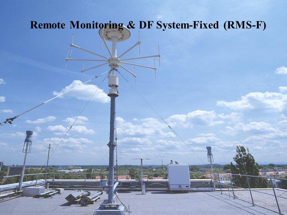 Remote Monitoring & DF System-Fixed (RMS-F)