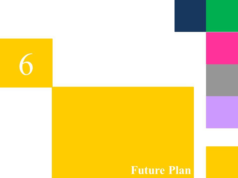 6 Future Plan