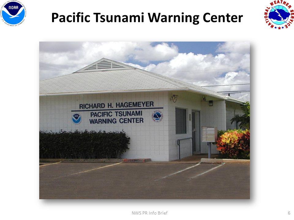 6 Pacific Tsunami Warning Center