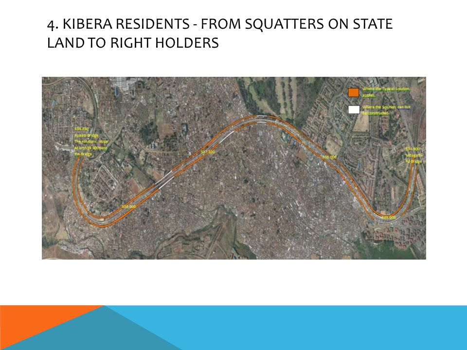 4. KIBERA RESIDENTS - FROM SQUATTERS ON STATE LAND TO RIGHT HOLDERS