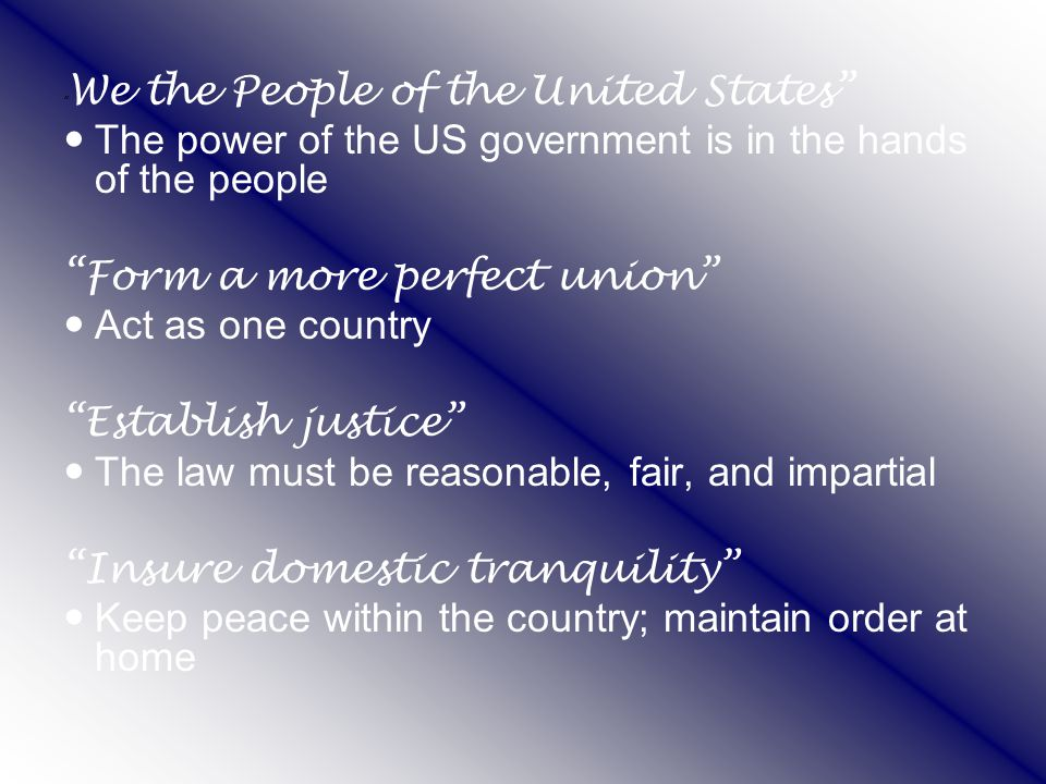 Section 4-11 Checks and Balances Checks and balances keep any one branch from becoming too powerful.
