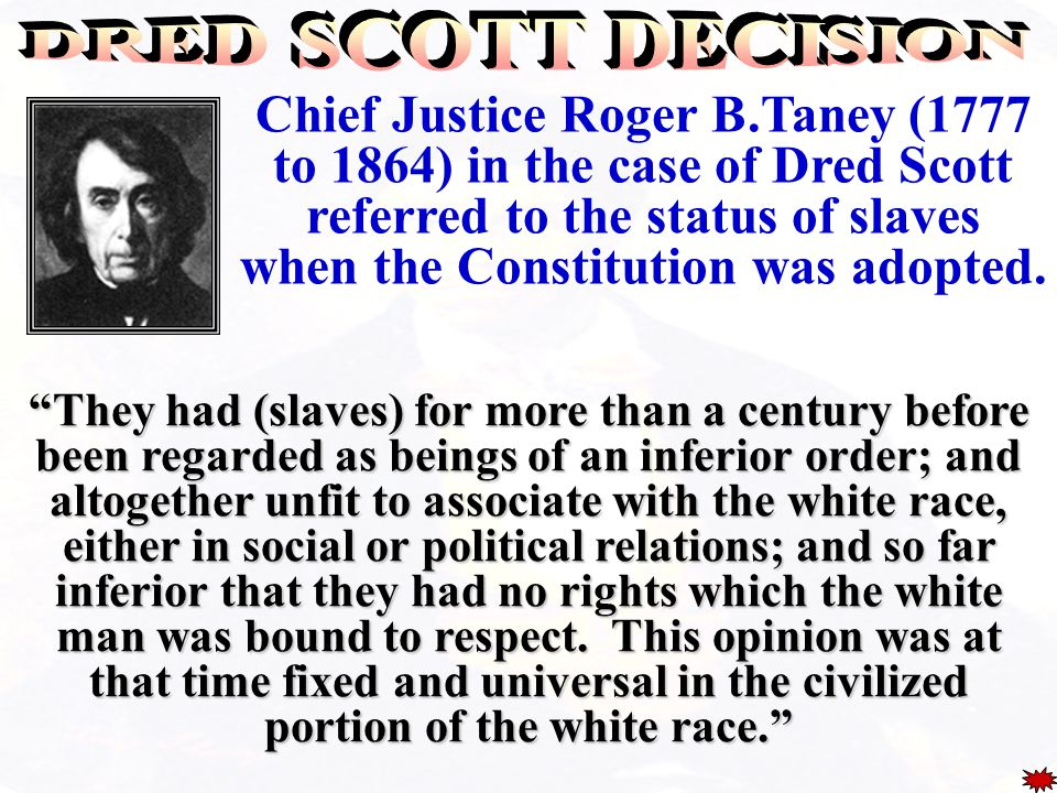 Supreme Court hands down the Dred Scott decision North refused to enforce Fugitive Slave Law Free states pass personal liberty laws. Republicans claim