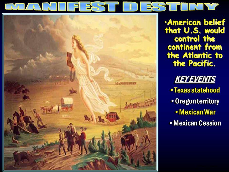 Picture/M.Destin y American belief that U.S.