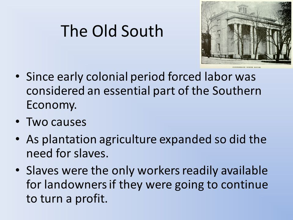 Social Class There was a clear divide in white culture This divide became more tenuous in the last decade before the Civil War.