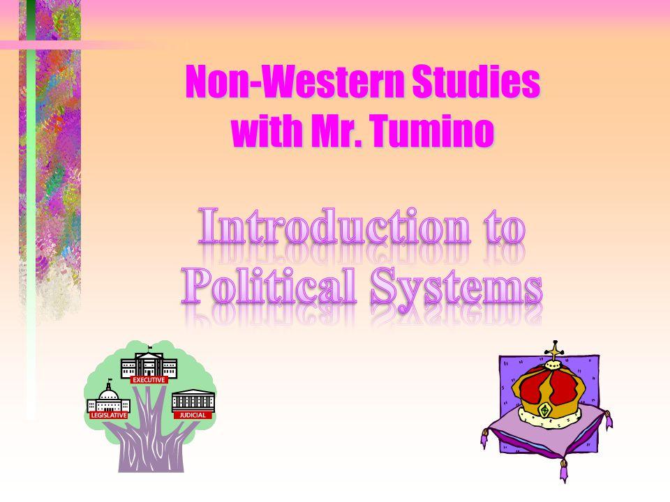 Non-Western Studies with Mr. Tumino