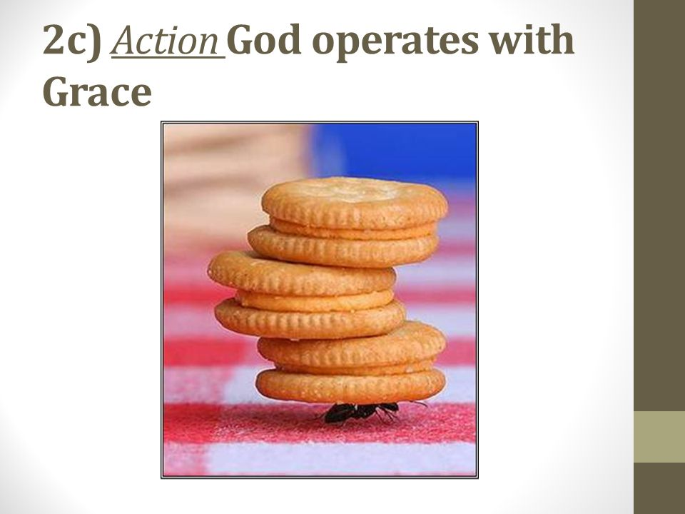 2c) Action God operates with Grace