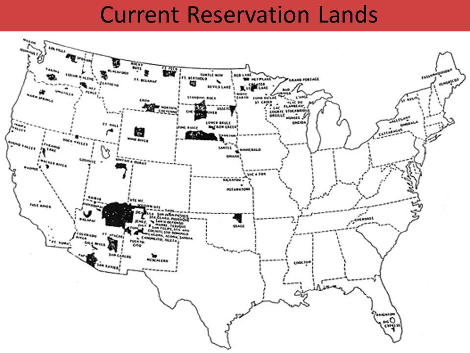 Current Reservation Lands