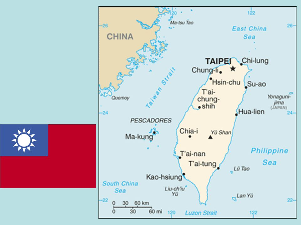 Taiwan, also known as Formosa (from Portuguese: Ilha Formosa, Beautiful Island ), is an island situated in East Asia in the Western Pacific Ocean and located off the southeastern coast of mainland China.