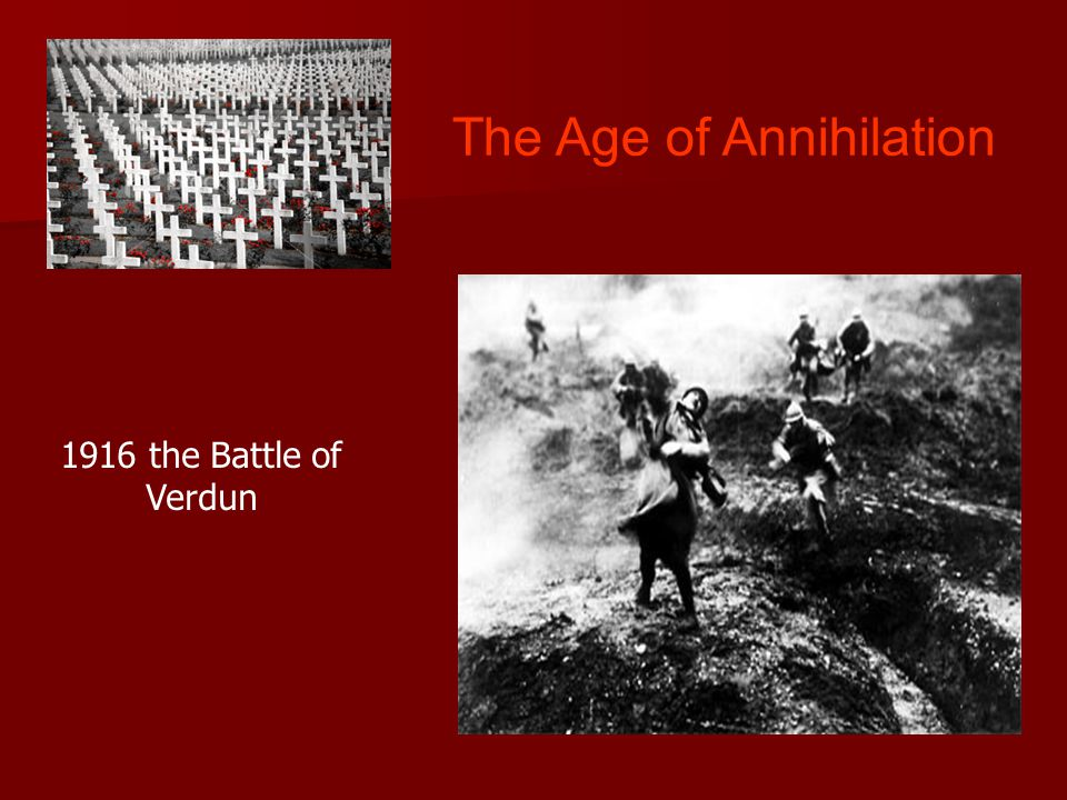 The Age of Annihilation 1916 the Battle of Verdun