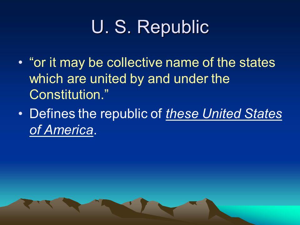 U. S.