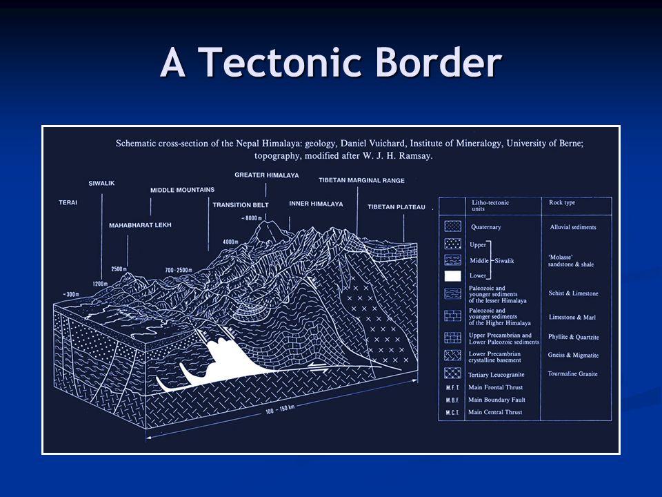 A Tectonic Border