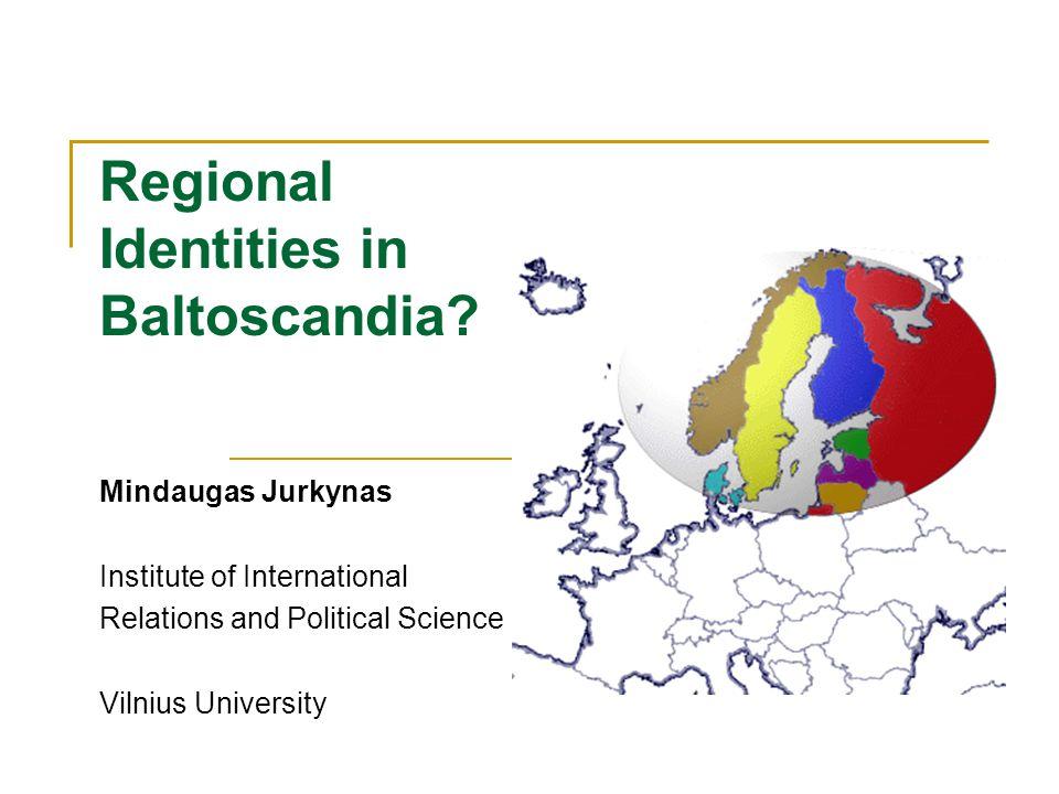 Regional Identities in Baltoscandia.