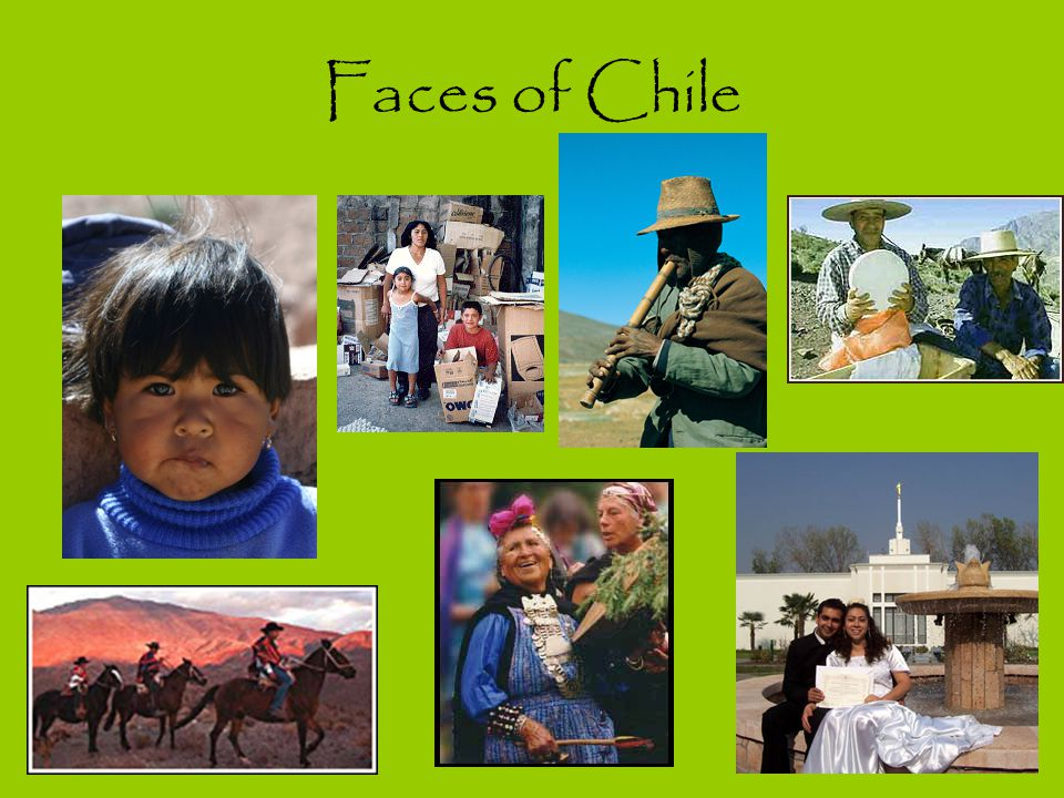 Faces of Chile