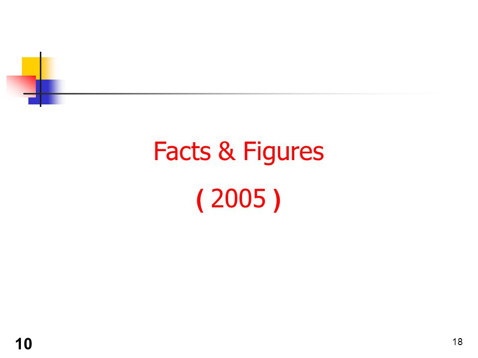 18 Facts & Figures ( 2005 ) 10