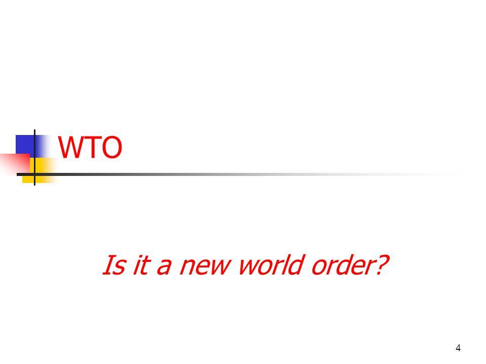5 A global dominance (1947)? I M FW B GATT The Bretton Woods Institutions