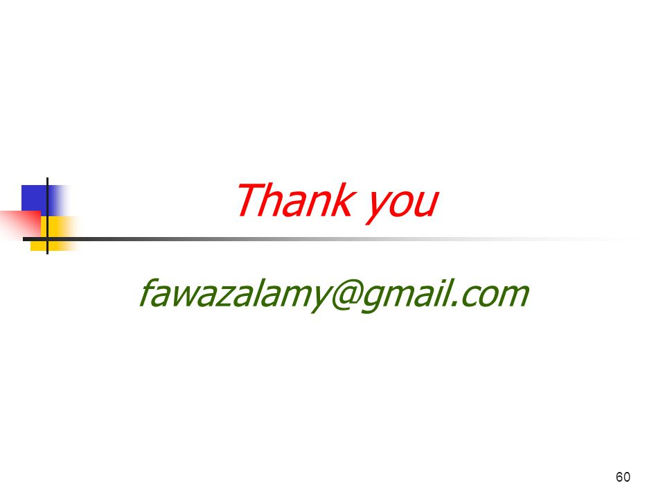 60 Thank you fawazalamy@gmail.com