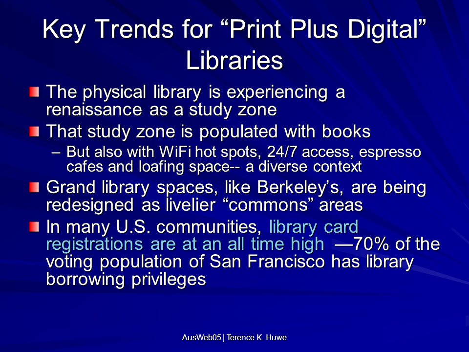 """AusWeb05 