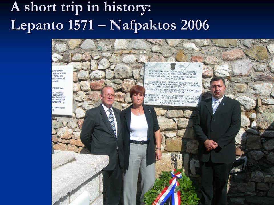 A short trip in history: Lepanto 1571 – Nafpaktos 2006