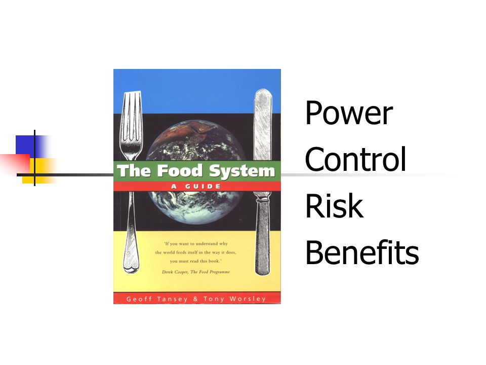 Food System actors Input suppliers Farmers Traders Workers Processors / manufacturers Wholesalers / retailers Caterers Consumers / citizens