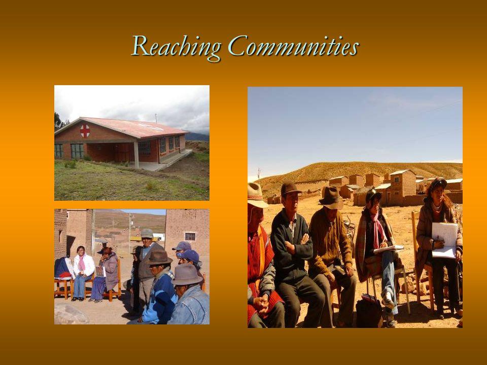 Reaching Communities
