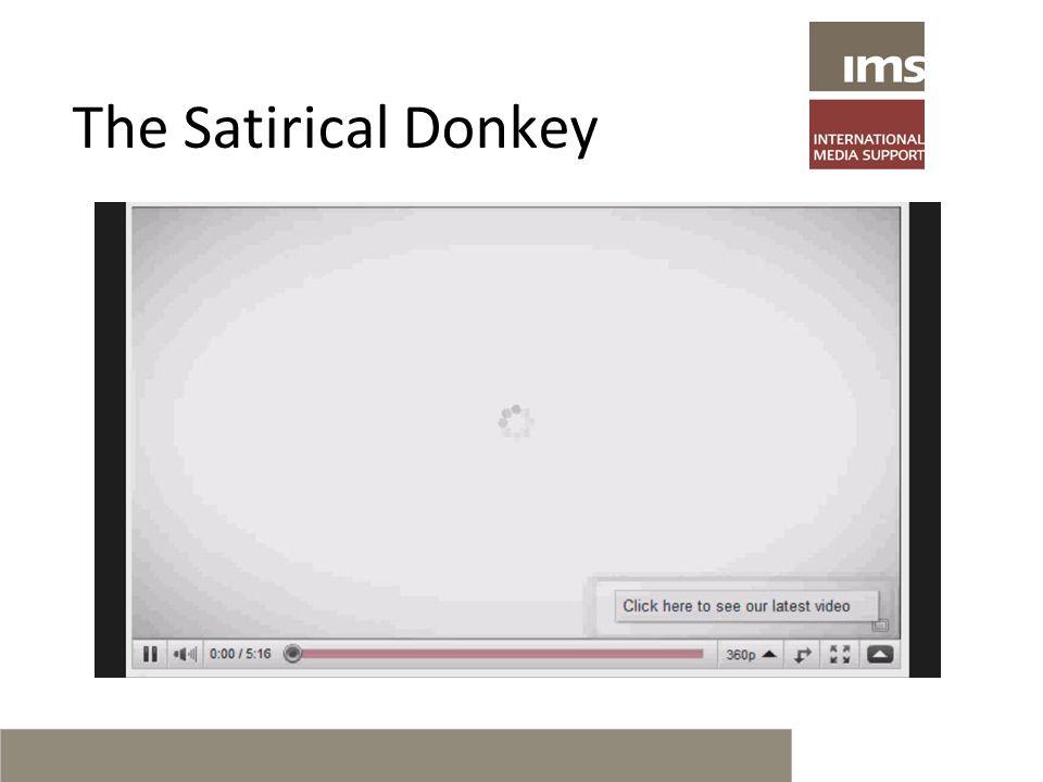 The Satirical Donkey