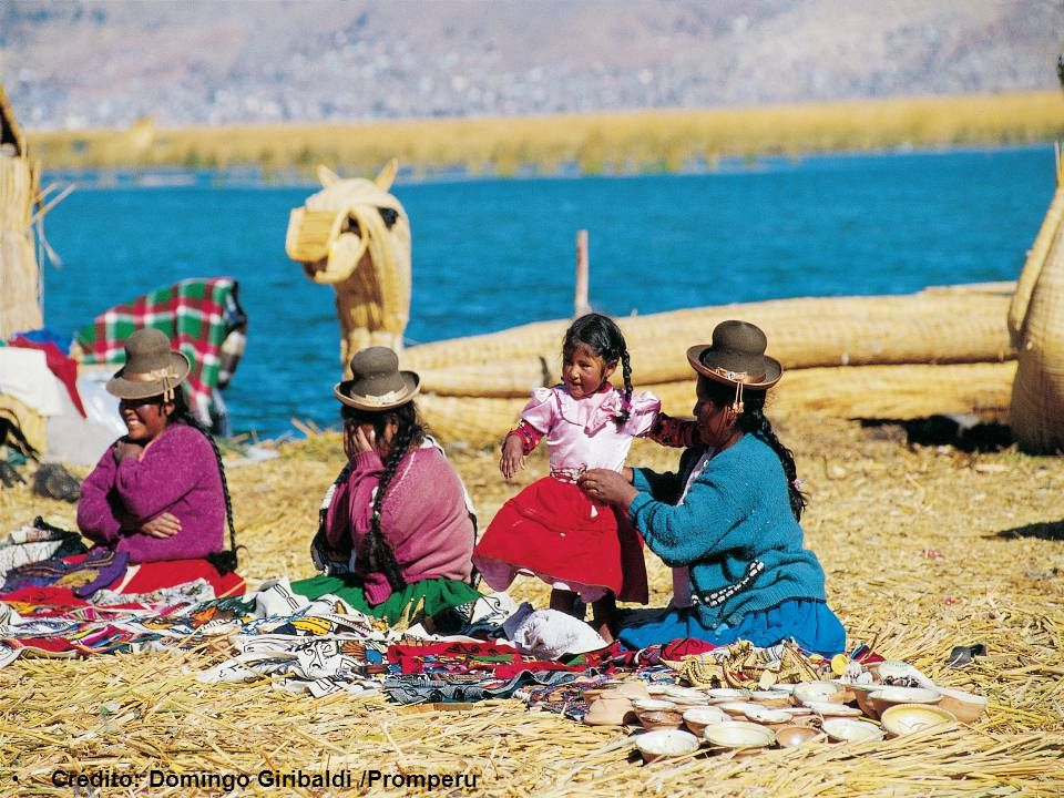 Lake Titicaca 10 blocks from the Main Square This lake is very important in Andean mythology since, according to legend, Manco Capac and Mama Ocllo, children of the sun god and founders of the Inca Empire, emerged from its waters.