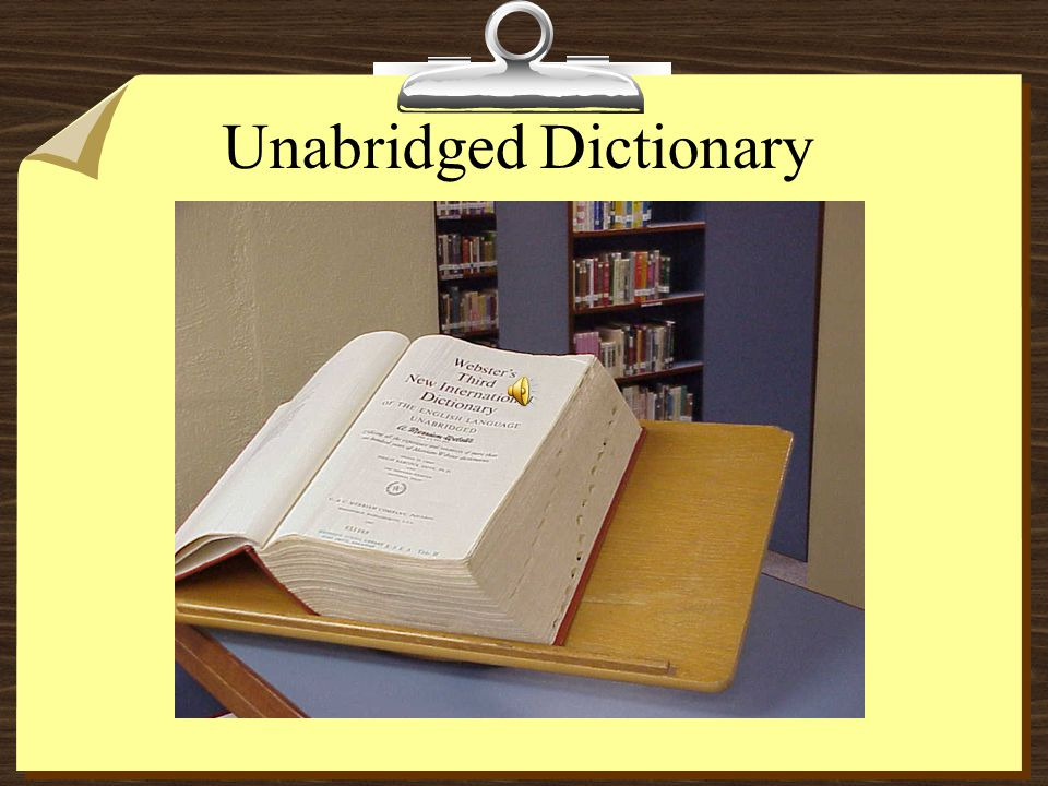 Dictionary A dictionary is a book listing a comprehensive or restricted selection of the words of a language, identifying usually the phonetic, gramma