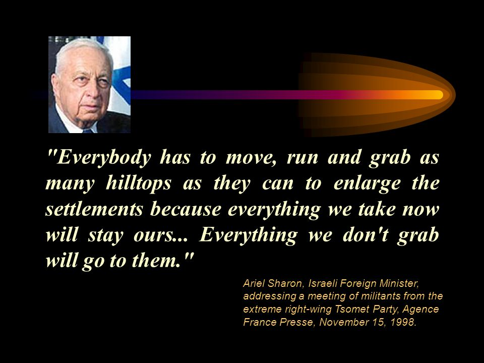 Everybody has to move, run and grab as many hilltops as they can to enlarge the settlements because everything we take now will stay ours...