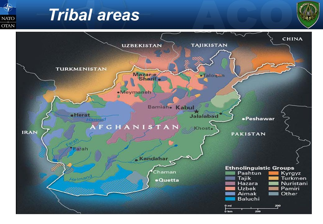 Tribal areas
