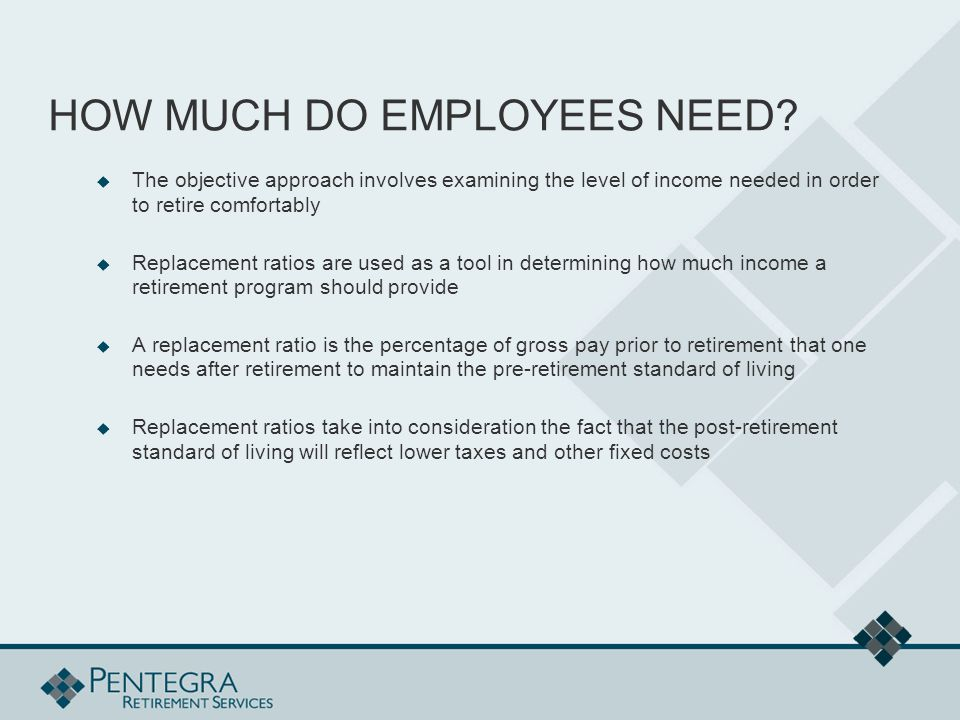 HOW MUCH DO EMPLOYEES NEED.