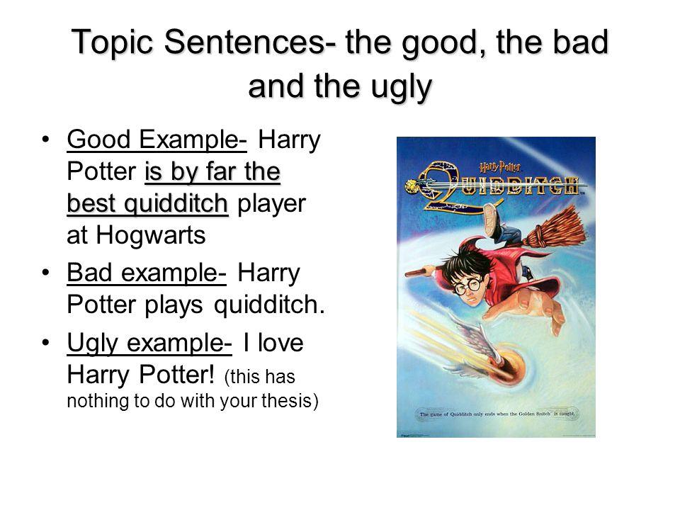 Essay topics sentences