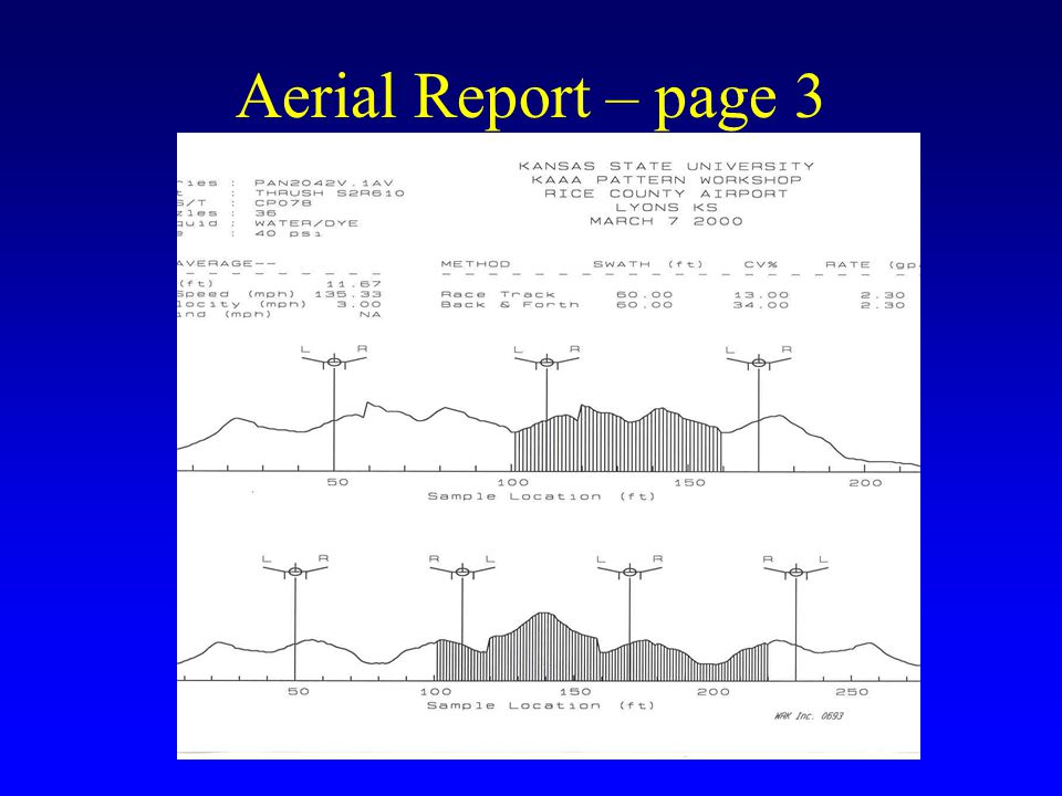 Aerial Report – page 3