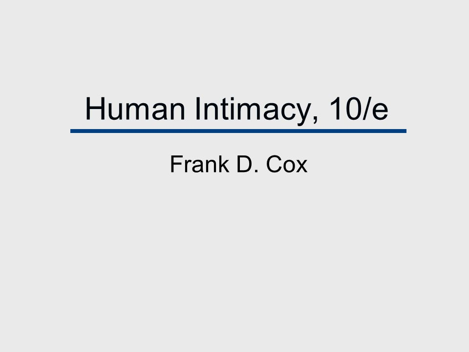 Chapter 1 Human Intimacy in the Brave New World of Family Diversity