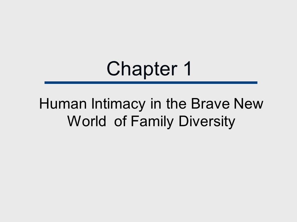 Chapter Outline Building Successful Relationships Qualities of Strong and Resilient Families: An Overview Can We Study Intimacy?