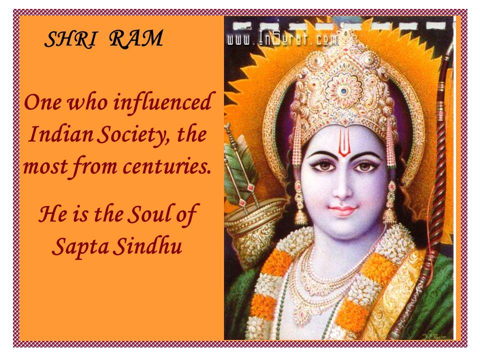 RAMAYAN: STORY of RAMA He got married to Sita daughter of earth.