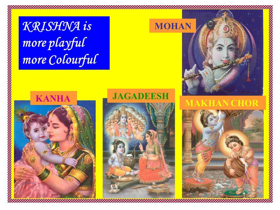 KRISHNA is more playful more Colourful KANHA MAKHAN CHOR JAGADEESH MOHAN