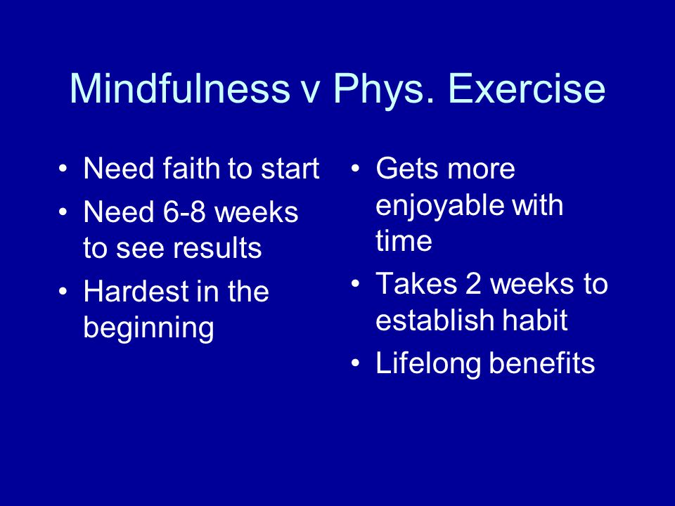 Mindfulness v Phys.