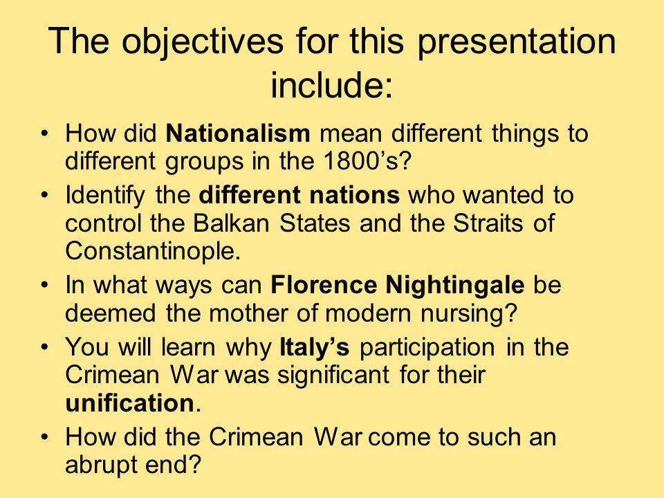 Total death toll Crimean War: 450,015 Russia 95,615 France (weakens Napoleon III) 45,400 Turkey 22,182 British 2, 194 Piedmont