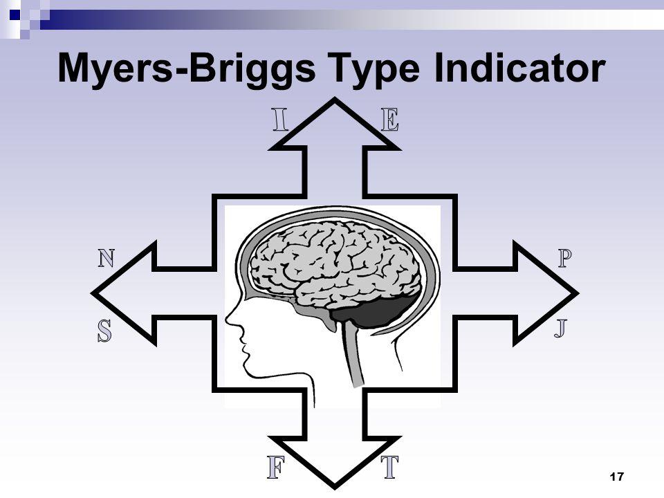 17 Myers-Briggs Type Indicator