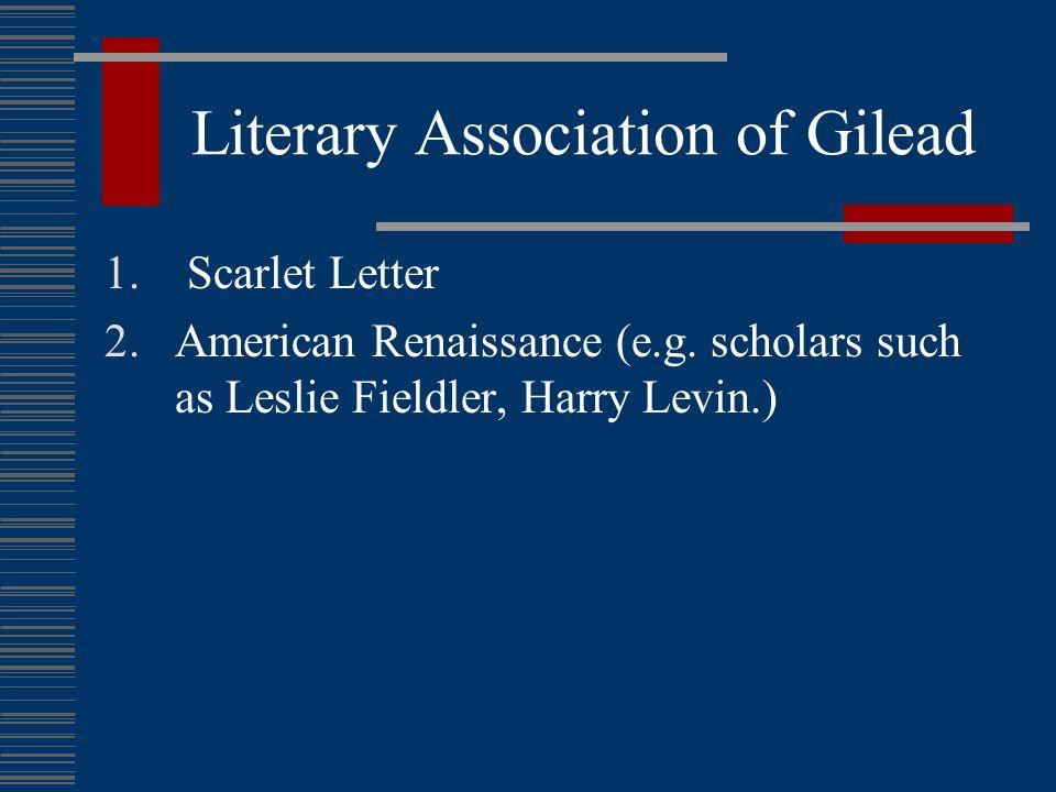 Gilead's Location (2):  Atwood's interpretation: Boston.
