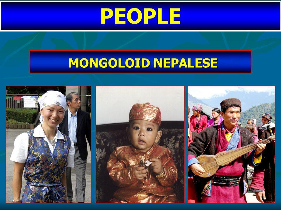 MONGOLOID NEPALESE MONGOLOID NEPALESE PEOPLE