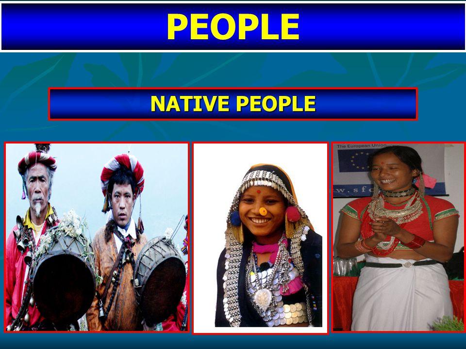 NATIVE PEOPLE PEOPLE