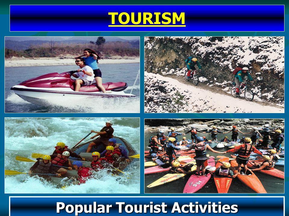 Popular Tourist Activities