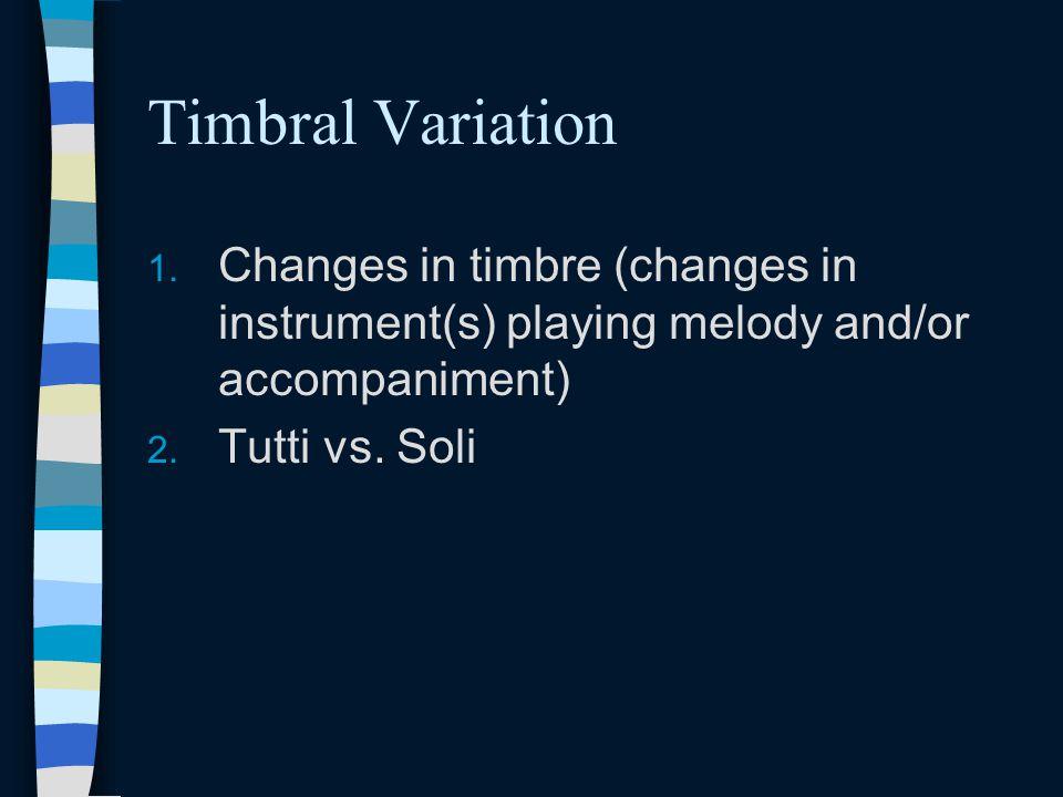 Timbral Variation 1.