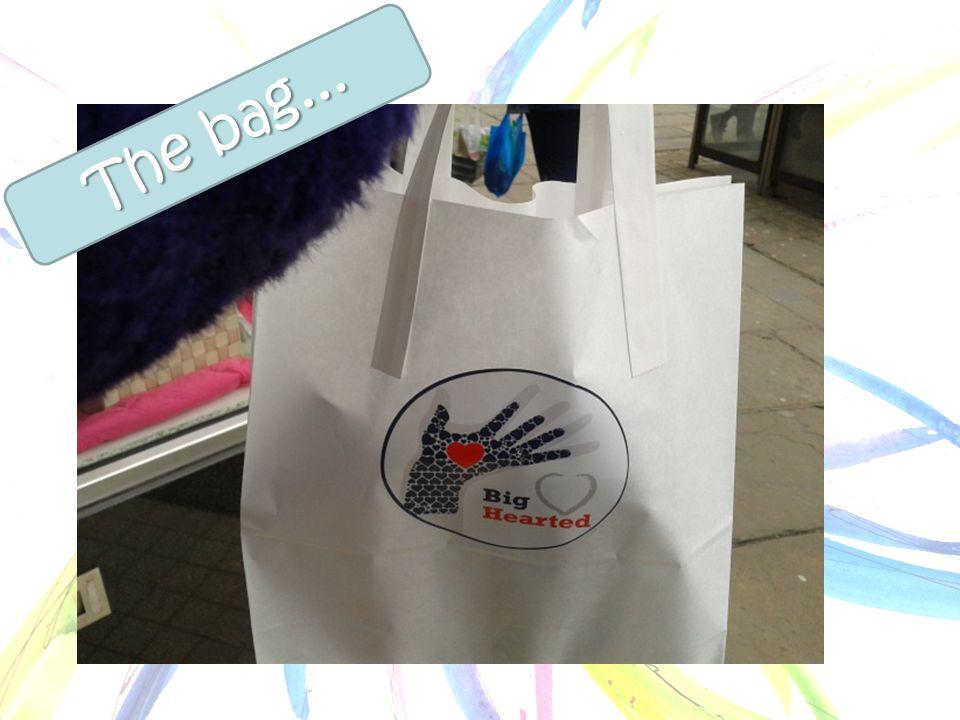 The bag...