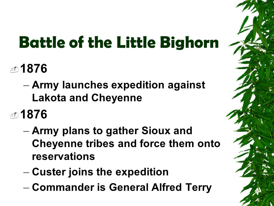 Battle of the Little Bighorn  George A.