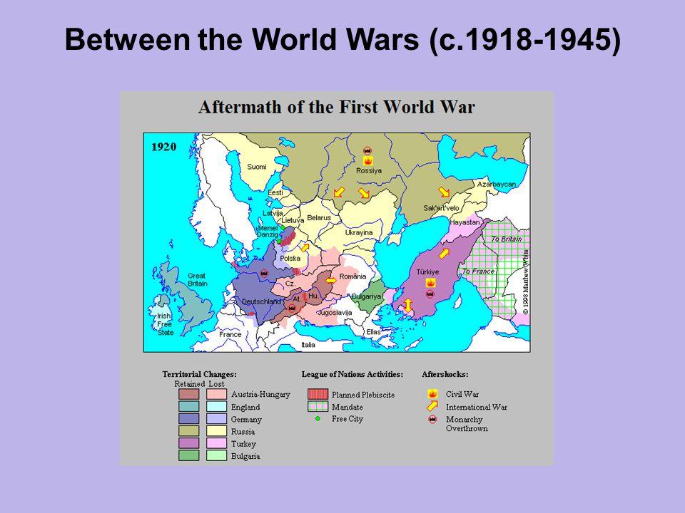 Between the World Wars (c.1918-1945)