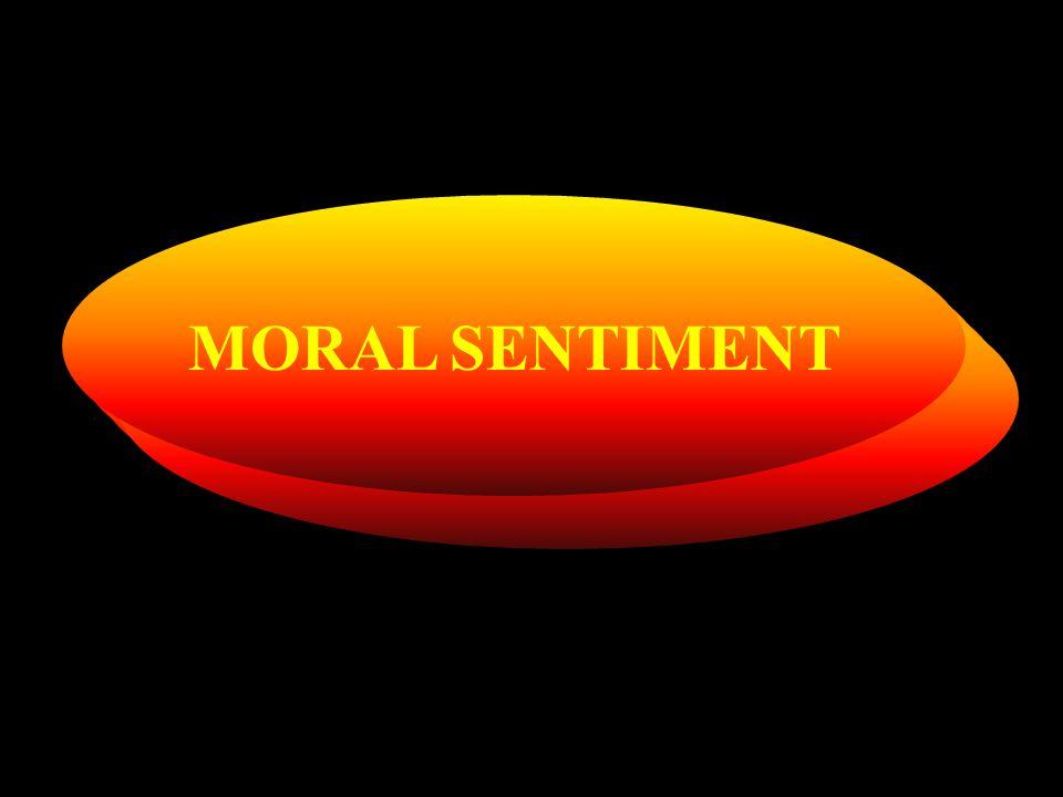 MORAL SENTIMENT
