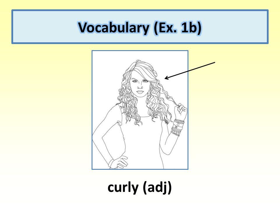 curly (adj)